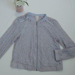 LC. Lauren Conrad Lace Dressy Jacket